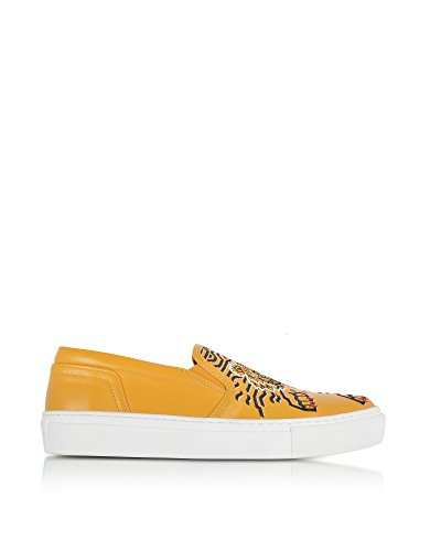 Skate Kenzo Jaune de Femme F762SN100L7141 Chaussures Cuir YAYr0