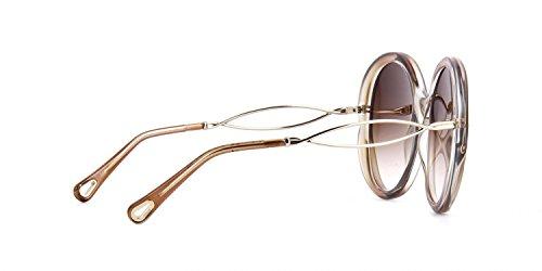 905 Unisex Chloé Sol Ce739S 57 Gafas de niños Beige Brown 1qUxq5Y