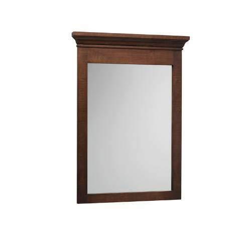 Ronbow Unlighted Bathroom Mirror 603324-F07 Vintage Walnut