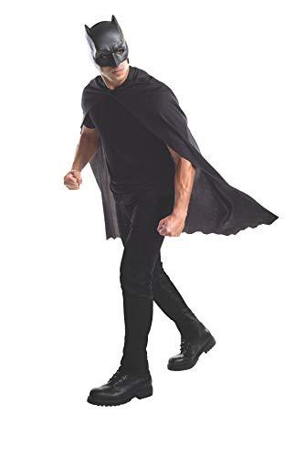 Rubie's Batman Adult Mask (Cape & Mask, Black) -