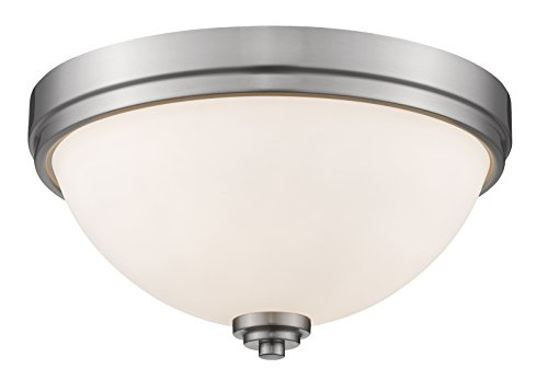 Z-Lite 443F2-BN 2 Light Flush Mount ()