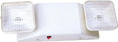 Thermoplastic (adjustable) Emergency Light, Low Profile, 90 Min., 120~277v, 2x5.4, 6v, Sealed Lead Acid, Htr