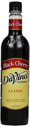 DaVinci Gourmet Classic Syrup, Black Cherry, 25.4 Ounce (Pack of 3)