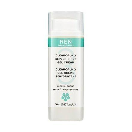REN Replenishing Gel Cream Facial Moisturiser, 50ml