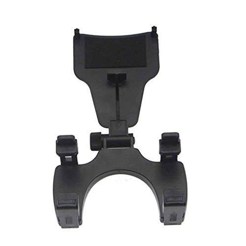 Jiasijieke Universal Car Mount Rearview Mirror Navigation GPS Holder Phone Holder Stand