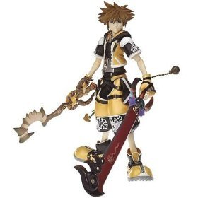 Kingdom Hearts 2 Master Form Yellow Sora Action (Heart 2 Figure Collection)