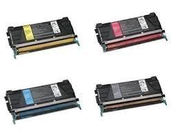 eT Brand GUARANTEED Lexmark Compatible 4 Color Set Cartridges for C734, C734n, C734dn, C734dtn, C734dw, C736, C736n, C736dn, C736dtn, X734, X734de, X736, X736de printers C734A1KG, C734A1CG, C734A1MG, C734A1YG cartridges (Laser C736dn Printer Color)