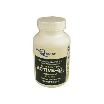 "200mg ActiveQ (90 Softgels) uses Kaneka Ubiquinol CoQ10 the ""active"" antioxidant form"