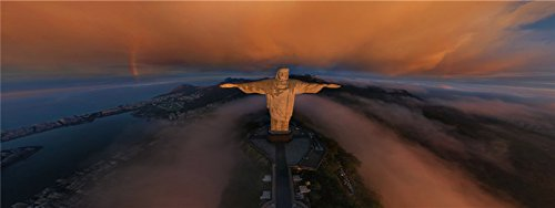 christ-the-redeemer-statue-clouds-jesus-christ-rio-de-janeiro-brazil-corcovado. commemorate bookmarks reminiscence page-marker (Corcovado Christ Redeemer Statue)