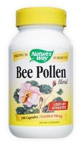 Nature's Way Bee Pollen Blend -- 180 Capsules
