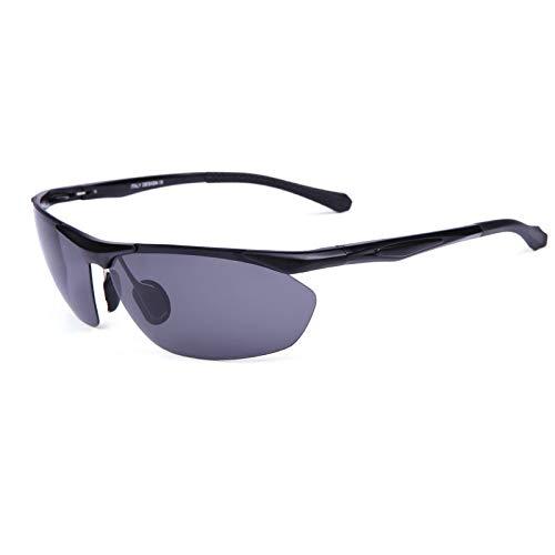 Mjia Aire Sol Espejos Gafas Gafas Deportivas de de Plata magnesio sunglasses de Aluminio Libre natación Hombre al de Playa polarizadas black nbsp;Deportes Z8xYrqZwB