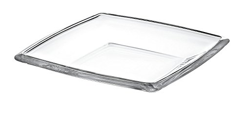 Barski European Glass -Square - Serving Tray - Platter - 11