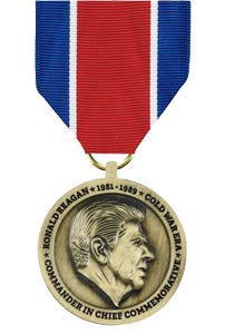 (Medals of America Ronald Reagan Commander in Chief Commemorative Medal Bronze)