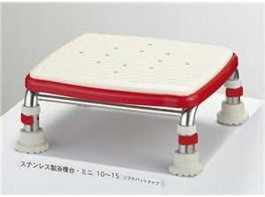 アロン化成 浴槽台 安寿ステンレス浴槽台Rソフトクッションタイプ(2)12-15 536-452