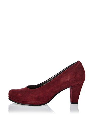Andrea Conti Pumps - Zapatos de vestir de cuero para mujer (Prugna)