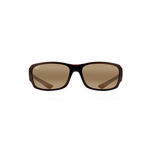 Maui Jim Sunglasses | Bamboo Forest 415 | Wrap Frame, Polarized Lenses, with Patented PolarizedPlus2 Lens Technology ()