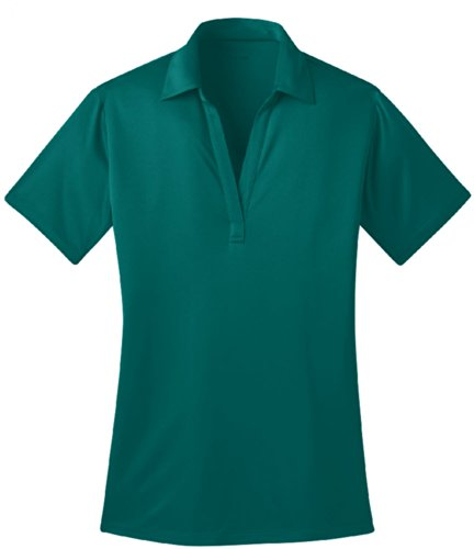 Joe's USA Silk Touch Golf Polo Shirt, XL-TealGreen