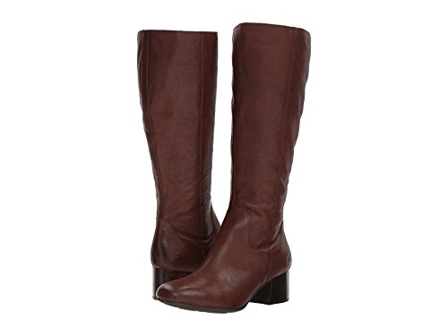 Avala Boots Knee Born Leather High Grain Full Brown Women wCqCSF