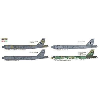 Italeri ITA1378S 1/72 B-52G Strat Fortress Toy, Grey: Toys & Games