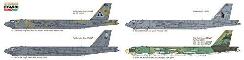 Italeri ITA1378S 1/72 B-52G Strat Fortress Toy, Grey 4