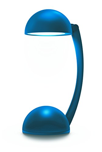 Sharper Image SBT5004BL Wireless Bluetooth Desk Lamp Speaker with Bright Led Light (Blue) -  Southern Telecom