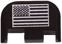 Black Plate for Glock Pistol with USA FLAG 31ZF8ZINvUL
