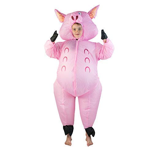 Bodysocks Kids Inflatable Pig Fancy Dress Costume -