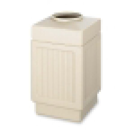 Safco Indoor/Outdoor Waste Receptacle
