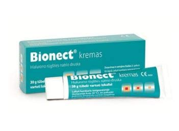 BIONECT cream for irritated and damaged skin,it alleviates the acute and chronic wound healing by Fidia by Fidia