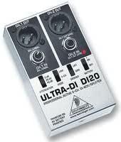 Behringer DI20 convertidor de audio - Conversor de audio (48V, 15 ...