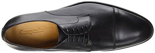 CAMPANILE Zapatos derby  Negro EU 45