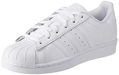 adidas Men's Superstar Foundation Shoes, Footwear White/Footwear White/Footwear White, 4 US (4 AU)