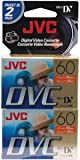 JVC 60MIN MINI DV TAPE 2PK S/O