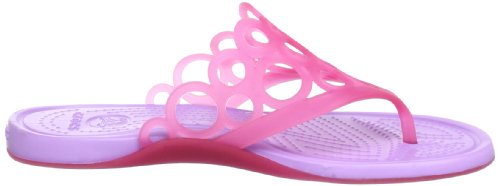 W Bubbles Rosa Para iris flop Pink candy Chanclas Adrina Crocs Flip Mujer 58IIq