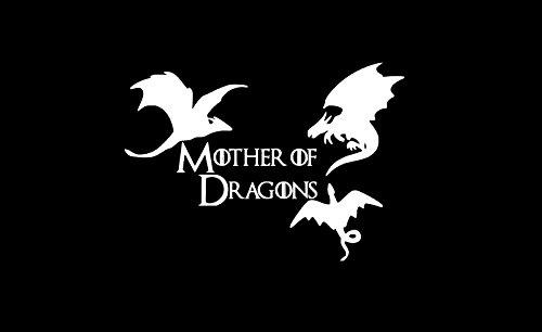 Mother Dragons Khaleesi Game Thrones Vinyl Sticker Decals Car Bumper Window MacBook Laptop (8