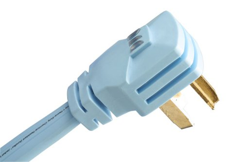 Monster PowerDryer AC Power - 6ft 220v, 30 Amp 3 Prong Hardwired Replacement Cord for Electric Dryers