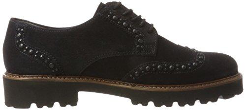 Gabor Fashion Pazifik para Shoes Cognac Mujer 16 Gabor Derby Azul Rqx5HSEEw