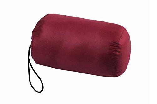 Rosso Donna Giacca Piumino con Cappuccio Vino Richiudibile Wantdo Leggero Ultra xqOZpn8w7H