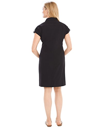 Zip Half Zenergy Dress Neema Chico's Black Women's qOwI44