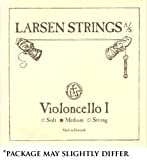 Larsen 4/4 Violin E String Medium Steel Loop-End