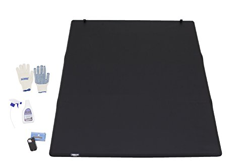 Cover Fold Tonneau Truck (Tonno Pro HF-251 Black Hard Fold Truck Bed Tonneau Cover 2009-2018 Dodge Ram 1500 | Fits 5.7' Bed (Excludes Beds with RamBox))