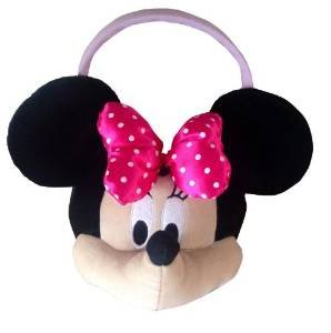 17 Inch Minnie Mouse Bowtique Jumbo Plush Easter Basket