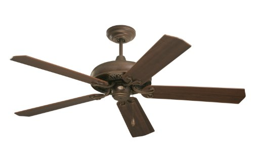 Emerson CF716GBZ Savannah Indoor Ceiling Fan, 52-Inch Blade Span, Gilded Bronze Finish, Dark Cherry/Medium Oak Blades (Fan Traditional Ceiling Oak Emerson)