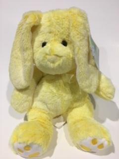 14 Inches Tall Plush - Hugfun Plush Bunny-14 Inches Tall-Stuffed Animal(Yellow)