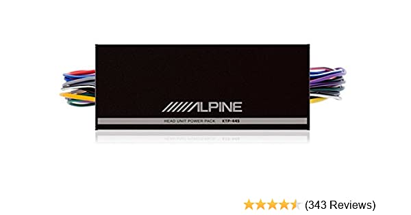 amazon com alpine ktp 445u 4 channel power pack amplifier cell rh amazon com
