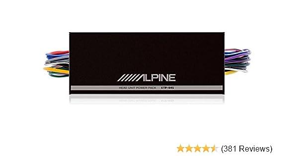 amazon com: alpine ktp-445u 4-channel power pack amplifier: cell phones &  accessories