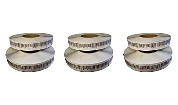 Checkpoint Compatible 8.2 MH RF Label 31x32mm, Fake Barcode, 1 Roll of 2K ALL-TAG 31x32 8BC2K