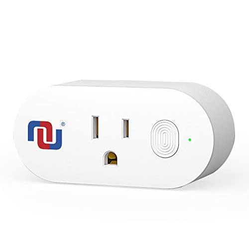 Mini Wifi Smart Plug with App Controlled, compatible with Alexa and Google Assistant