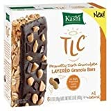 Kashi Peanutty Dark Chocolate Layered Granola Bars Includes 6, 1.1 Oz. Individually Wrapped Bars (Pack of 2)