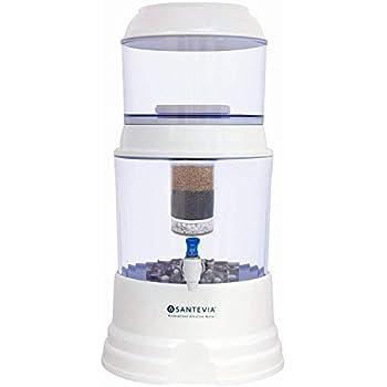 .com: nikken 1 waterfall gravity water filter purifier system ...